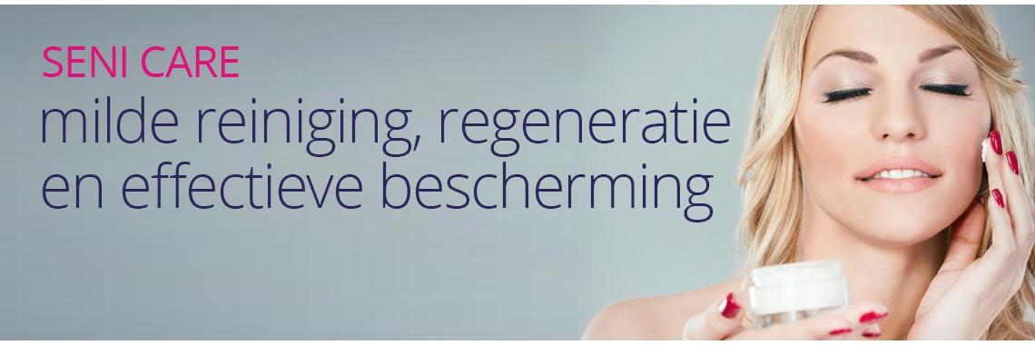 Milde reiniging, regeneratie en effectieve bescherming